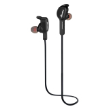 Beli Eurobird Sport Stereo Bass Ponsel Magnetic Wireless Bluetooth In Ear Headphone With Mikrofon Suara Prompt Selfie Kontrol Hitam Eurobird