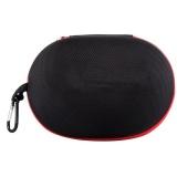 Harga Eva Berbentuk Oval Tahan Air Tas Penyimpanan Pouch Untuk Headphone Kabel Data Hitam Merah Intl Online