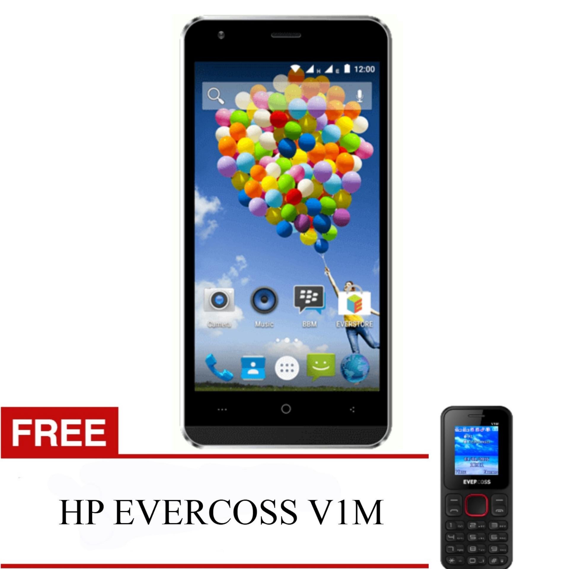 Evercoss A75A Winner Y Ultra RAM 2GB FREE HP EVERCOSS V1M
