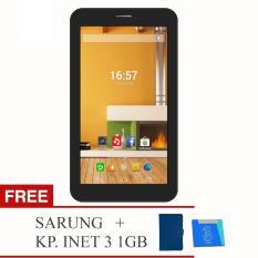 Evercoss AT1D Jump S Tab - 2G - RAM 512GB / ROM 4GB + Free Sarung & KP Inet 3 (1GB)