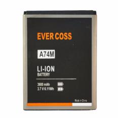 Harga Evercoss Battery A75A Hitam Online Indonesia