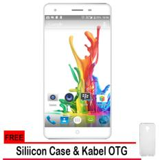 Evercoss Elevate Y2 Power S55 4G LTE - Ram 2GB/16GB + Gratis Silicon Case & Kabel OTG