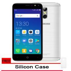 Promo Evercoss M50 4G Lte Finger Print Ram 1Gb 8Gb Silver Gratis Silicon Case Original Akhir Tahun