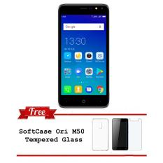 EVERCOSS M50 FACE UNLOCK 1GB/8GB 4G LTE Free SoftCase & Tempered Glass