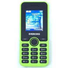 Model Evercoss N1 Candybar Dual Sim Hijau Terbaru