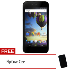 Evercoss One X A65 8Gb Android One Hitam Gratis Flip Cover Evercoss Diskon 40