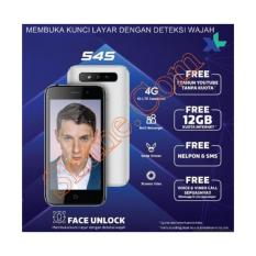 EVERCOSS S45 NEW 4G LTE ANDROID CANGGIH DENGAN FITUR FACE UNLOCK-OS ANDROID 7 NOUGET