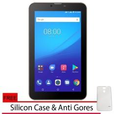 Evercoss U70A Tablet 4G LTE FingerPrint - Ram 1GB/8GB + Gratis Silicon Case &