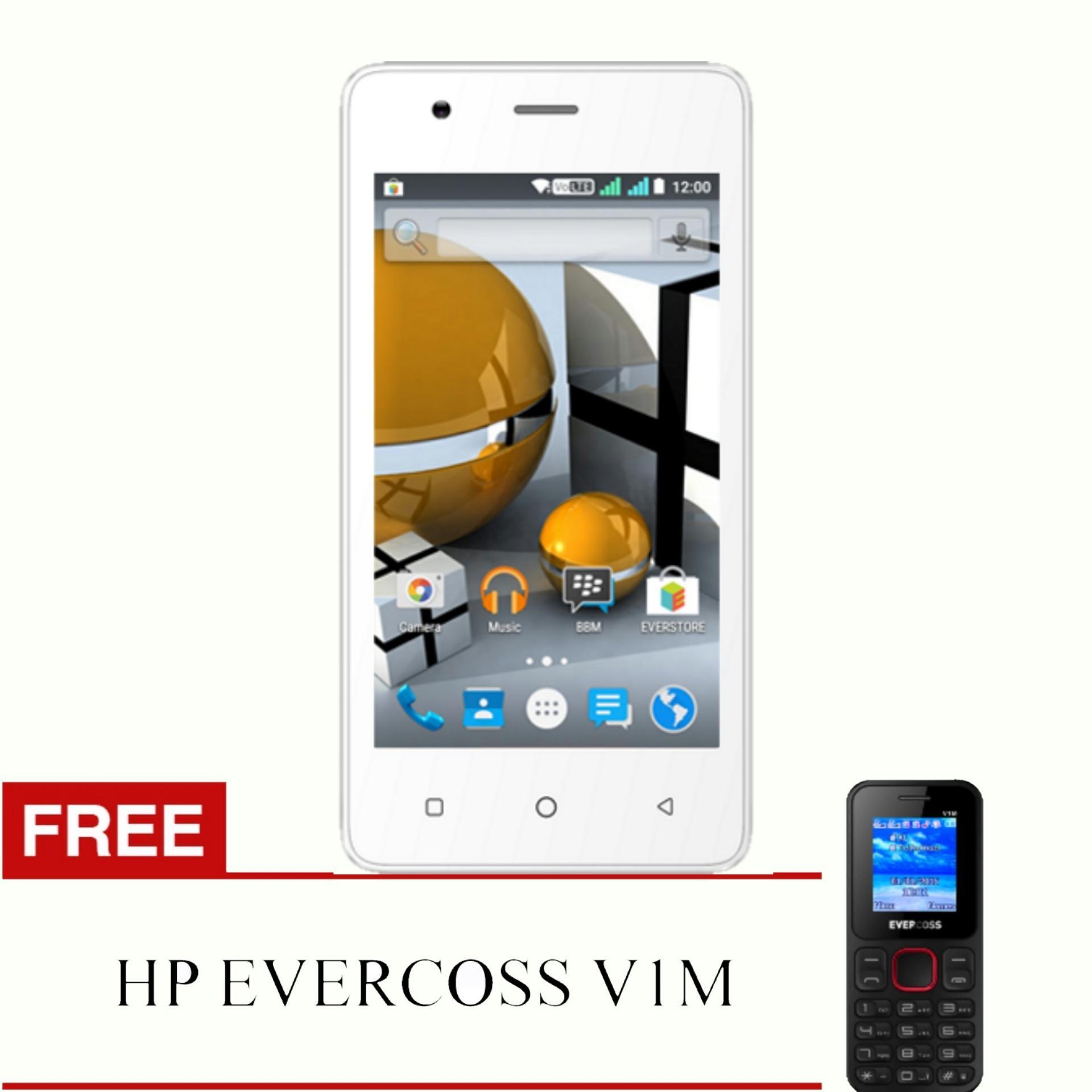 Jaringan LTE Evercoss Winner T M40 koneksi 4G TERMURAH SE INDONESIA RAM 1GB Free HP