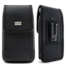 Evocel [Urban Pouch] Tactical Carrier dengan [Belt Loop & Holster] (5.39 Cm X 2.79 CM X 0.35 In) Cocok dengan Galaxy J3 Prime, Galaxy On5, LG Aristo, Apple IPhone 6/7, Moto E4, & Lebih, Medium-Intl