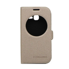 Beli Excellence Flip Cover Eternity Samsung Galaxy Star Pro Dous S7262 Gold Excellence Asli