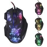Beli Excelvan 3200Dpi 7 Buttons Led Usb Wired Gaming Mouse For Pro Gamer Intl Online Terpercaya