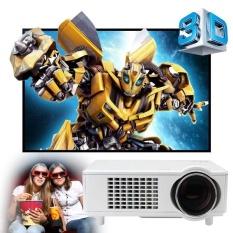 Excelvan CL720D LED Proyektor 3000LM 1280x800 Resolusi Asli dengan Digital TV Antarmuka Dukungan HDMI USB VGA AV Input -Intl