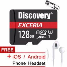 Harga Termurah Exceria 128 Gb Microsdxc™ Kartu Memori Class 10 Untuk Samsung Huawei Xiaomi Smartphone Gratis Ios Android Ponsel Headset Asli Intl