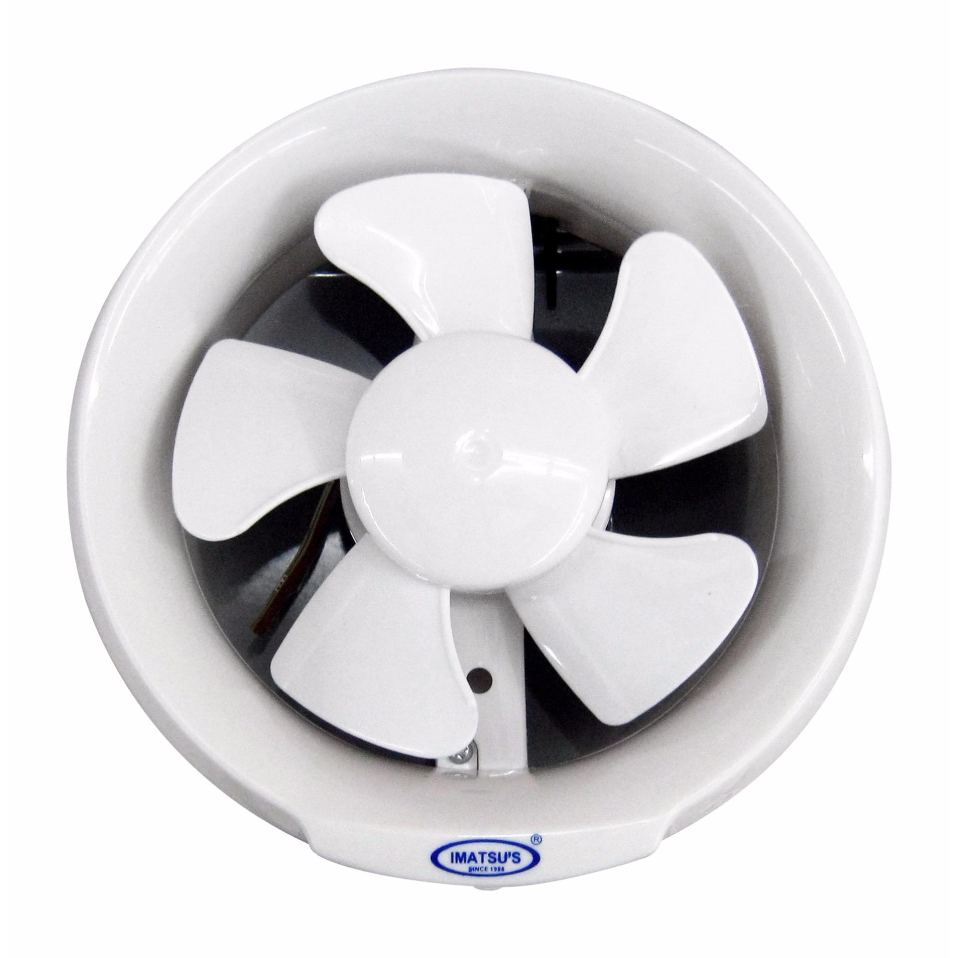 Jual Exhaust Fan Kaca Imatsu Apc15 Ak With Ball Bearing Led 6 Inch Rumah Toilet Dapur Udara Hisap Angin Nyaman Aman Sejuk Dingin Ventilasi Plafon Eksos