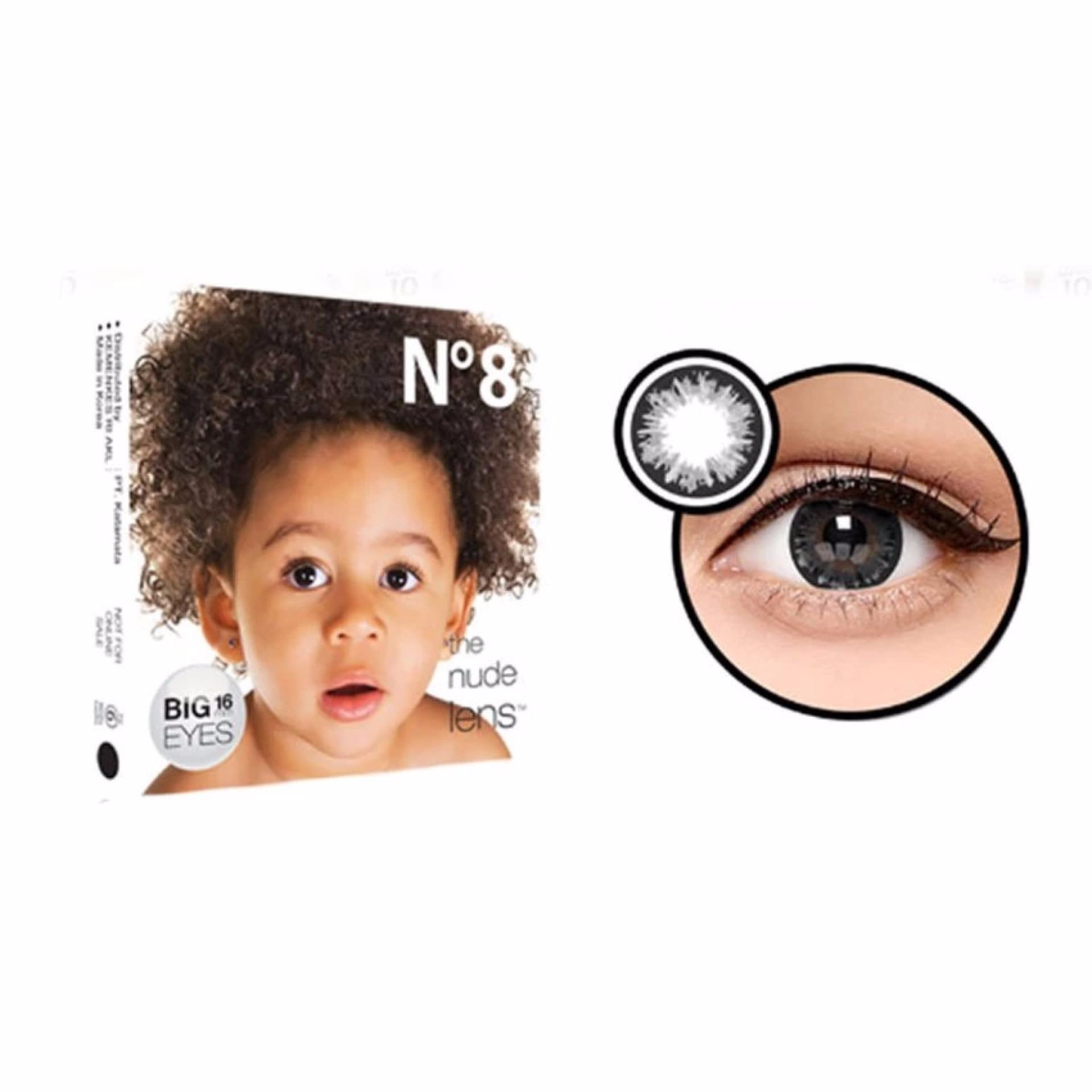 Beli Exoticon Softlens Ice No 8 Black By X2 Minus 2 5 Baru