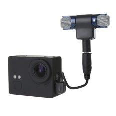 Jual Eksternal Mini Stereo Mic Mikrofon Dengan 17 Cm 3 5Mm Untuk Mini Usb 10 Pin Kabel Adaptor Untuk Gopro Hero 4 3 3 Mikrofon Ukuran 5 5 5 5 1 5 Cm Intl Lengkap