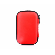 Jual Beli External Usb Headset Carry Case Cover Pouch Bag Red Tiongkok
