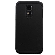 Review Ekstrim Warna Ganda Pelindung Baja Yang Sulit Untuk Kasus Samsung Galaxy S5 Hitam Tiongkok