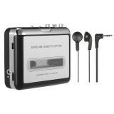 Jual Ezcap Usb Cassette Capture Kaset Tape To Mp3 Konverter Ke Komputer Stereo Hi Fi Kualitas Suara Mega Bass Audio Music Player Dengan Earphone Satu Set