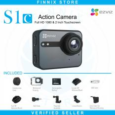 Harga Ezviz S1C Sport Action Camera Full Hd With Lcd Touch Screen Grey Baru Murah