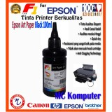 Iklan F1 Ink Art Paper Epson Black 100Ml