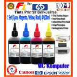 Dimana Beli F1 Ink Untuk Printer Hp 100Ml Cyan Magenta Yellow Black 1 Set F1