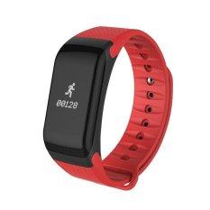 Harga F1 Gelang Heart Rate Monitor Smart Jam Tekanan Darah Darah Oksigen Pelacak Smart Band Bluetooth Kebugaran Tracker Gelang Untuk Ios Dan Android Intl Branded