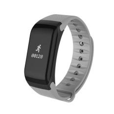 F1 Gelang Heart Rate Monitor Smart Jam Tekanan Darah Darah Oksigen Pelacak Olahraga Pengingat Smart Gelang untuk IOS dan Android- INTL