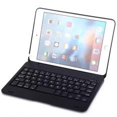 F1S Nirkabel Bluetooth Keyboard Lipat ABS Keras Pelindung Case untuk iPad Mini 4 Pintar Tidur Fungsi-Internasional