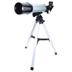 Ulasan Lengkap F36050M Astronomi Refracting Telescope Lensa Landscape Dengan Tripod Perak Intl