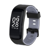Tips Beli F4 Ip68 Tahan Air Heart Rate Tekanan Darah Kebugaran Tracker Smart Watch Abu Abu Intl