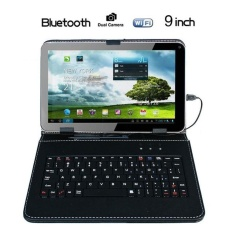 Promo Fabulous 9 Android 4 4 Tablet Pc Quad Core 1Gb 8Gb Wi Fi Keyboard Case Bundle Uk White Intl