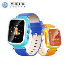 Factory explosion q80 children's smart GPS positioning watchwaterproof phone card watch customized solutions - intl