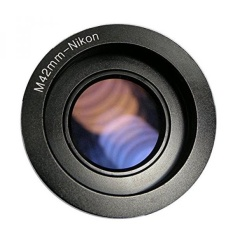 Fairview M42-Nikon Camera Lens Adapter With Infinity Focus For Pentax Zeiss Mamiya M42 Lens to Nikon F Mount D7200 D5100 D810A - intl