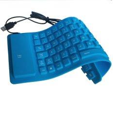 FAK Keyboard Flexible Mini - Usb - Biru