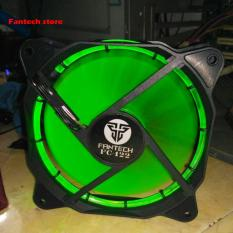Toko Fan Casing Cpu Fantech Turebine Fc 122 Hijau Termurah North Sumatra