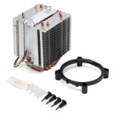 Harga Fan Cpu Quiet Cooler Heatsink 4 Heat Pipe Untuk Intel Lga775 1155 1156 Core I7 Amd Intl Origin