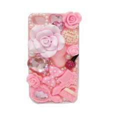 Ulasan Mengenai Fancy Casing Flower 3D Iphone 5 Pink