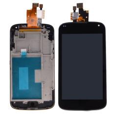 Fancytoy Layar LCD Digitizer Bingkai untuk LG Google Nexus 4 E960 (Hitam)-Intl