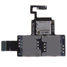 Fancytoy Baru FLEX Kabel MicroSD SIM Card Holder untuk HTC Desire V