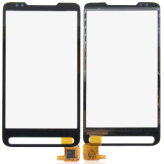 Fancytoy Penggantian Layar Sentuh Hitam Digitizer Lensa Kaca untuk HTC HD2 T8585-Intl