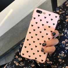 Fang Fang Cute Love Scrub Hard Shell Penutup Pelindung Penuh Dilindungi Kembali Case untuk IPhone 6 Plus/6 S PLUS -Intl