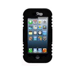 Fang Fang Tahan Air Shockproof Dirt Snow Proof Tahan Lama Case Cover untuk IPhone 6/6 S 4.7 (Hitam)
