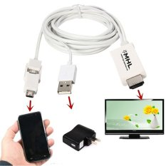 Fang Micro USB MHL For HDMI 1080 P TV Adaptor Kabel untuk Samsung Galaxy S3 S4 S5 Catatan 2/ 3/4 HTC