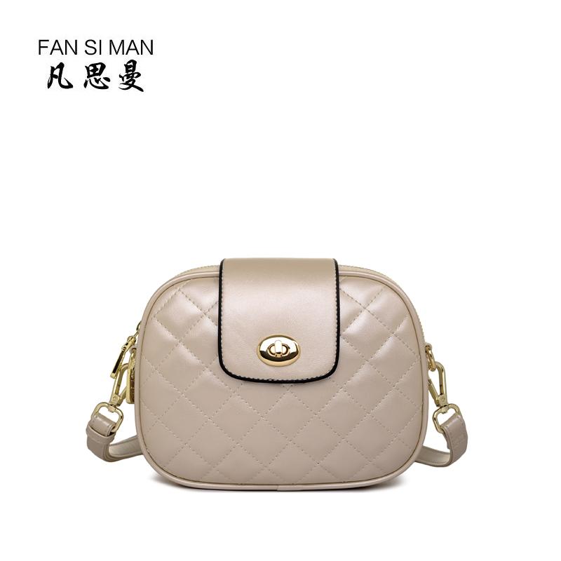 Harga Fansiman Korea Fashion Style Mini Bahu Diagonal Wanita Tas Kecil Tas Wanita Mutiara M Merk Oem