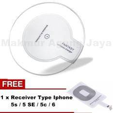 Harga Fantasy Wireless Charger For All Qi Certified Devices All Compotybel Hendphone Warna Acak Free Receiver Modul Wireless Werles Type Jack Iphone 6 6S 6 Lengkap