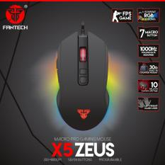 Review Toko Fantech Gaming Mouse X5 Zeus Running Rgb Macro