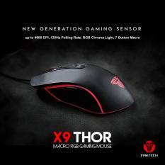 Review Fantech Gaming Mouse X9 Thor Standart Macro Fantech