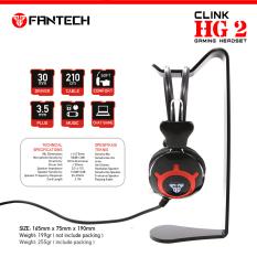 Harga Fantech Headset Clink Hg 2 Hitam Fantech Asli